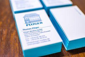 Letterpress, Boston Style Visitenkarten